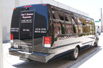 27 Passenger Shuttle Ford Coach Land Yacht Black Coach Bus  / Dublin, CA 94568   / Hourly $0.00