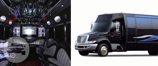 25 to 35 Passenger Limo Bus Party Limo Bus / Chicago, IL   / Hourly $0.00
