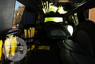 White Cadillac Escalade Super Stretch Limousine Limo  / Philadelphia, PA   / Hourly $0.00