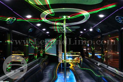 Ghost ~ Party Bus Party Limo Bus  / Los Angeles, CA   / Hourly $0.00