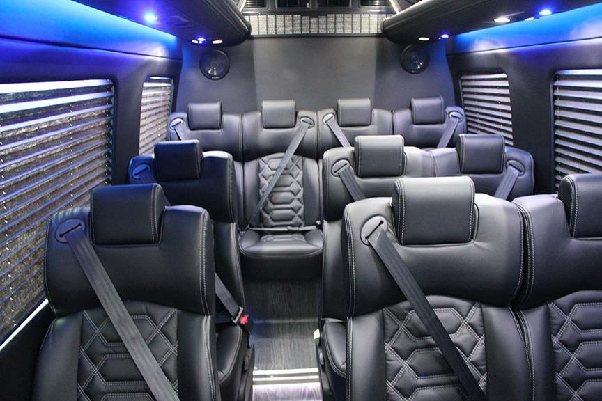 12 Passenger Mercedes Sprinter  Van / Rodeo, CA   / Hourly $0.00