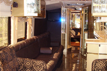 40 PASSENGER PARTY BUS CHARTER Party Limo Bus  / Newark, NJ   / Hourly $0.00