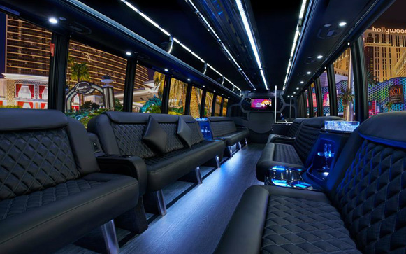 22 Passenger Party Bus  Party Limo Bus / Newark, CA 94560   / Hourly $0.00