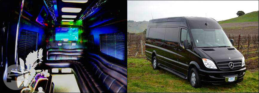 Mercedes Sprinter Limousine Limo  / Napa, CA   / Hourly (Other services) $110.00