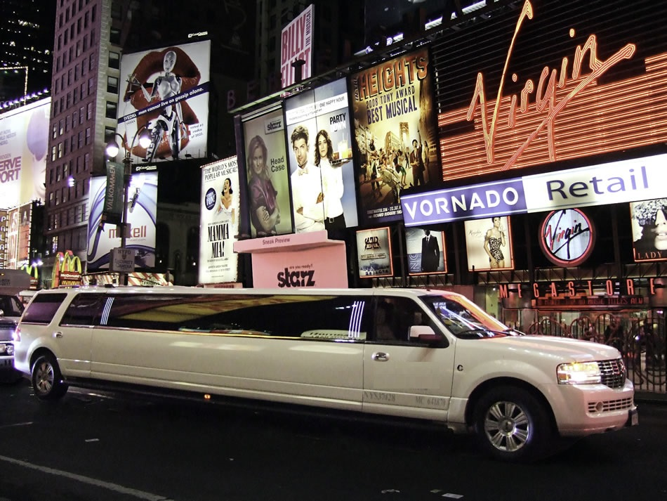 Average Cost for Limo Service for Wedding in NYC