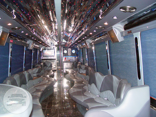50 Passenger Luxury Party Bus Party Limo Bus / New York, NY   / Hourly $0.00