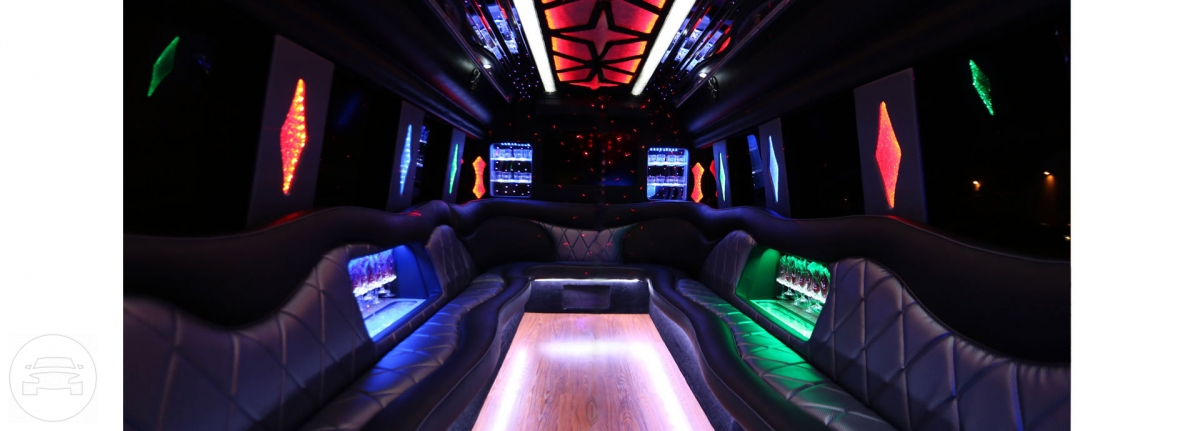 Ford Party Limo Bus  / Las Vegas, NV   / Hourly $0.00