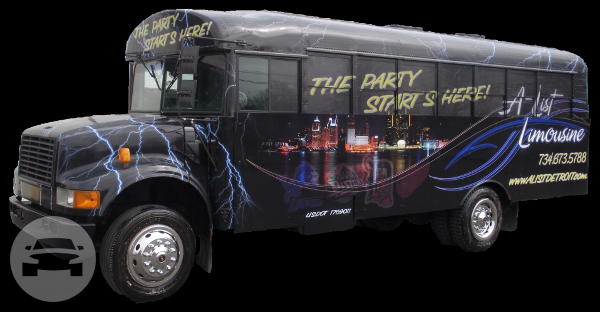PEARL INTERNATIONAL 3800 Luxury Party Bus Party Limo Bus  / Plymouth, MI 48170   / Hourly $0.00