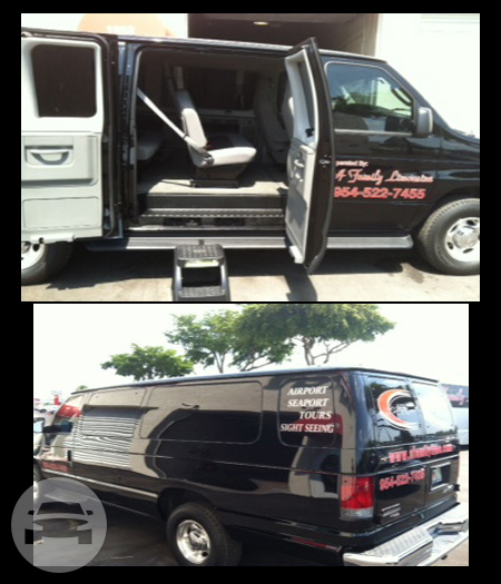 2014 Ford Executive Van up to 14 Passengers Van  / Miami, FL   / Hourly $0.00
