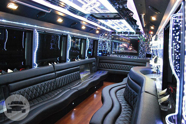 25 passenger Party Limo Bus Party Limo Bus / Chicago, IL   / Hourly $0.00