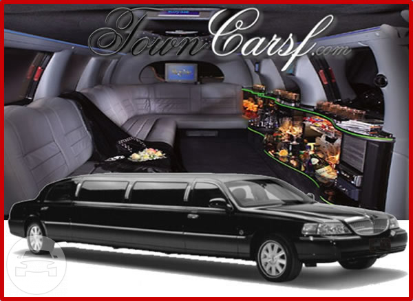 11 seater Lincoln stretch Limo / Muir Beach, CA   / Hourly $0.00