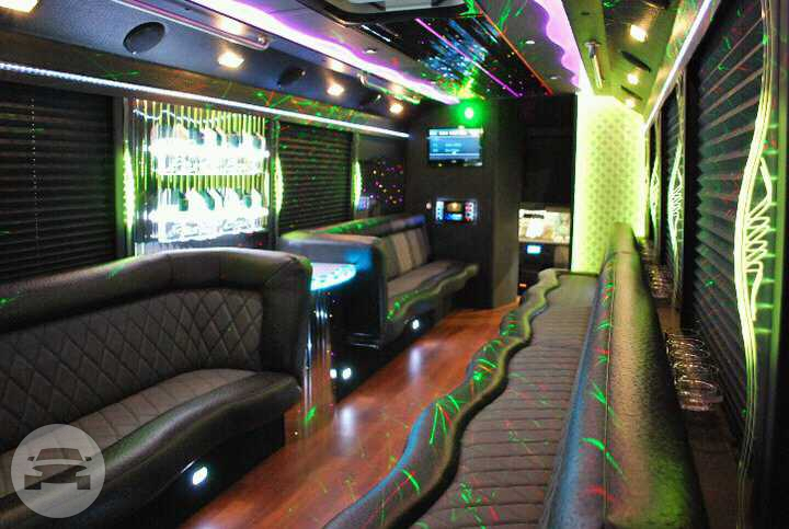 Party Bus 27 Pax Party Limo Bus / Union City, NJ 07087   / Hourly $0.00