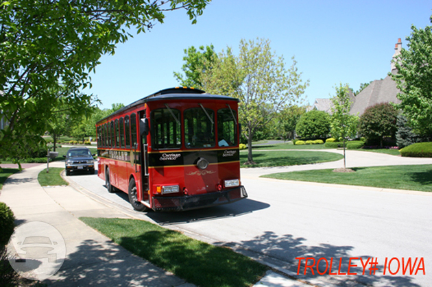 TROLLEY Iowa 32 Passenger Coach Bus / Chicago, IL   / Hourly $226.00