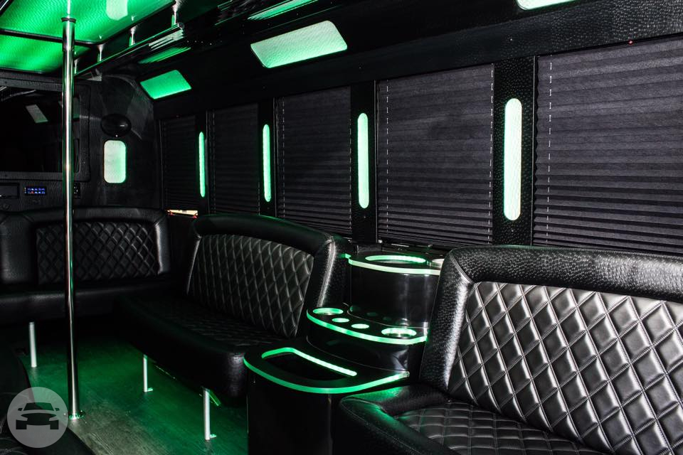 E-450 Tiffany Coach Limo Bus 2016 Party Limo Bus  / Troy, MI   / Hourly $0.00
