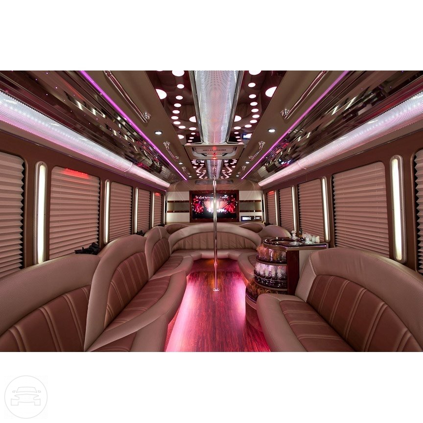 PARADA FORD F450 Luxury Party Bus Party Limo Bus / Ann Arbor, MI   / Hourly $0.00