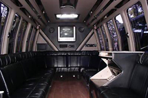 18 PASSENGER PARTY BUS CHARTER Party Limo Bus  / Newark, NJ   / Hourly $0.00