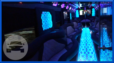46 Passenger Luxury Liner Party Bus Party Limo Bus  / New York, NY   / Hourly $0.00
