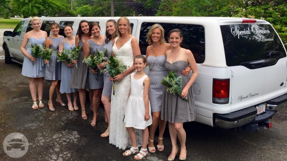 Stretch SUV Limousine Limo  / Plymouth, MA   / Hourly (Other services) $95.00