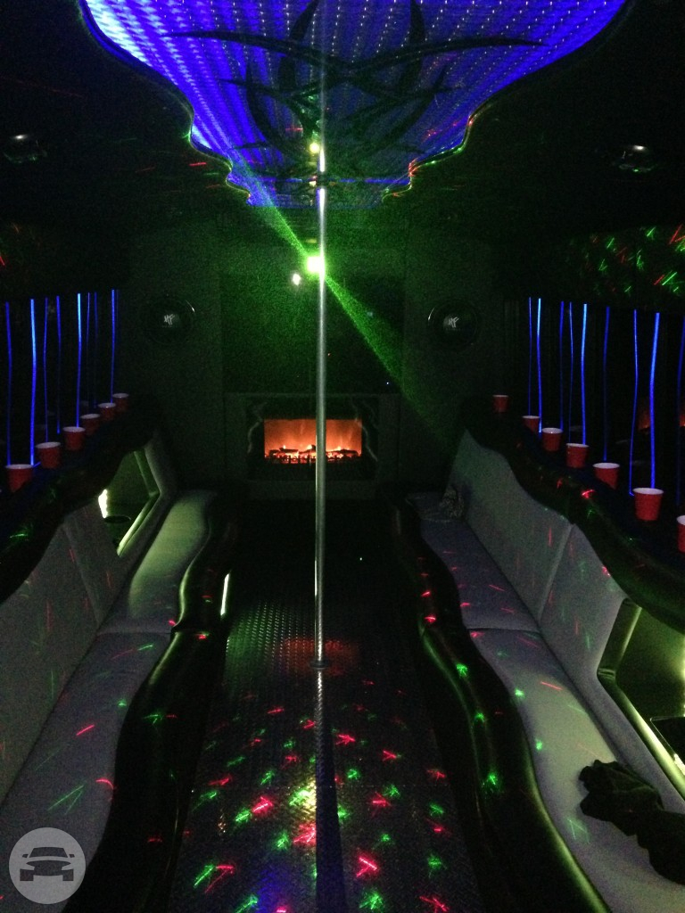PARTY BUS – 22 PASSENGER Party Limo Bus  / Charlotte, NC   / Hourly (Other services) $105.00
