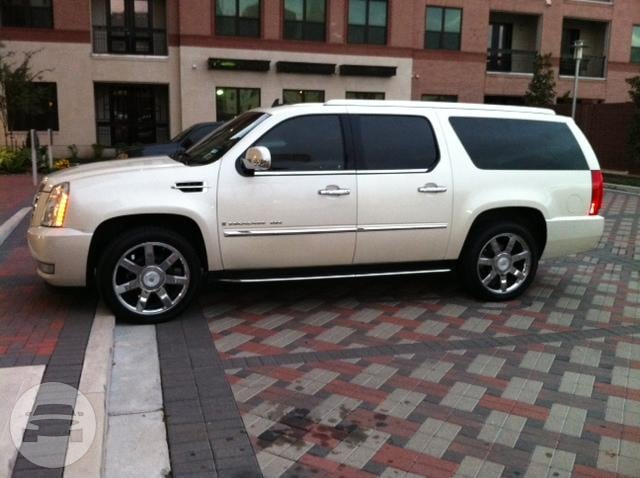 White Cadillac Escalade SUV SUV  / Houston, TX   / Hourly $0.00