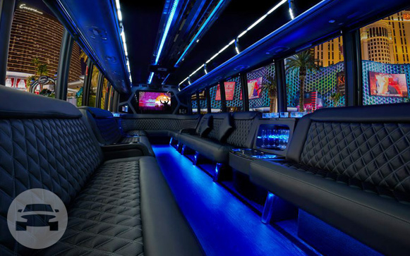 30 seater Party Land Yatch Party Limo Bus  / Piedmont, CA   / Hourly $225.00