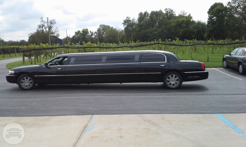 8 Passenger Executive Lincoln Town Car Stretch