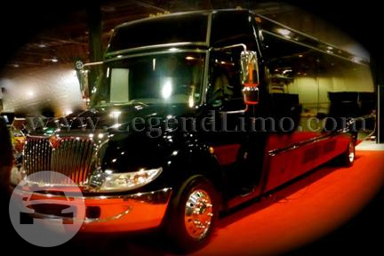 B Money 40 Pax Party Bus Party Limo Bus  / Los Angeles, CA   / Hourly $0.00