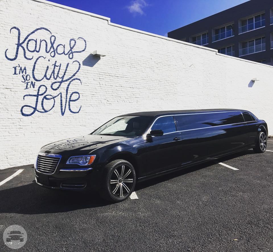 Black Chrysler 300 Stretch Limousine