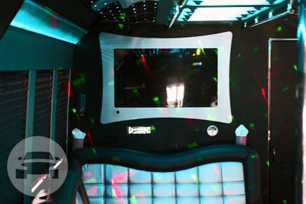 Black Mamba - Party Bus Party Limo Bus  / Los Angeles, CA   / Hourly $0.00