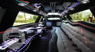 White Top Lincoln Stretch Limo  / Detroit, MI   / Hourly $0.00