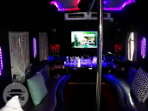 Party Bus 15 Pax Party Limo Bus  / Wayne, NJ 07470   / Hourly $0.00