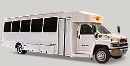 White Shuttle Bus - 32 Passenger Coach Bus  / Houston, TX   / Hourly $0.00