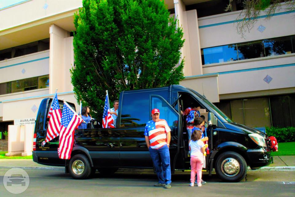 Convertible Sprinter Limo Limo  / Napa, CA   / Hourly (Other services) $167.85