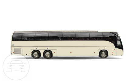 54 Passenger Motor Coaches Coach Bus  / Hartford, CT   / Hourly $0.00